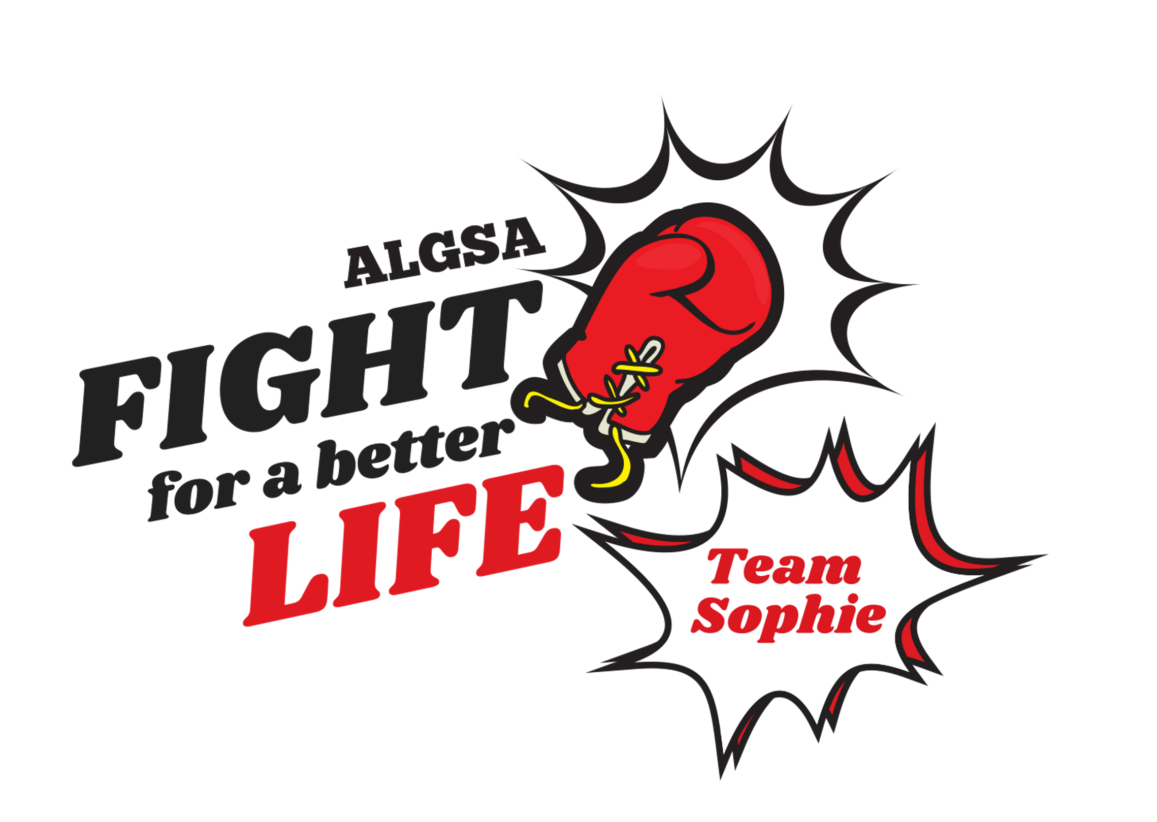 """10th Annual Fight for a Better Life – ALGSA """"Team Sophie"""""""