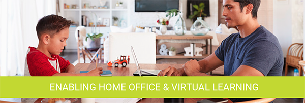 AirLink®️ Routers Enabling Home Office & Virtual Learning