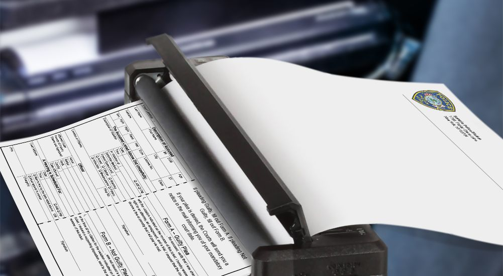 Sheriff's Office Leverages Brother Thermal Paper