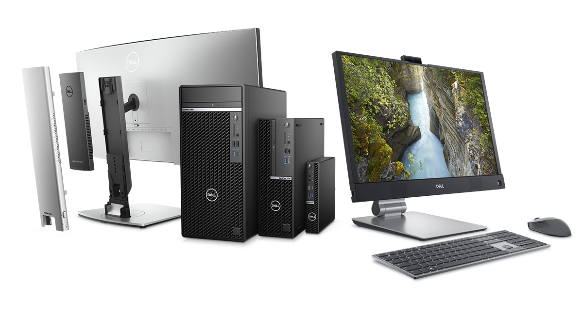 Optiplex Desktops including All-in-One